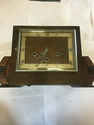 Westminster Chime Art Deco Mantel Clock