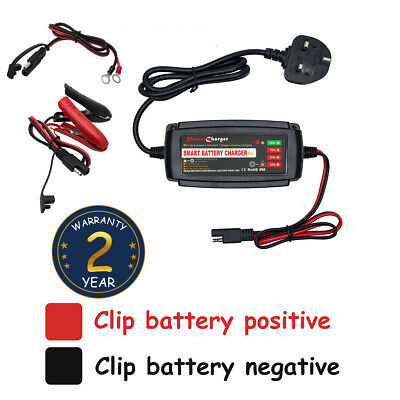 Waterproof 12V 5A Vehicle Car Battery Charger Maintainer Smart Fast automotive