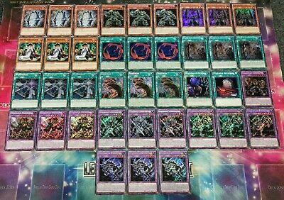 Fossil DECK/SET/CORE-Fusion,Wunderriss,Fossilkrieger Schädelritter Yu-Gi-Oh