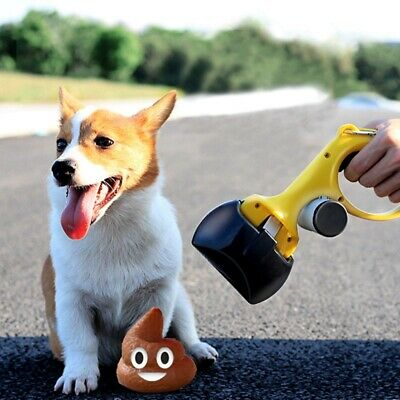 Dog Pooper Scooper Folding Jaw for Pets and Cats Heavy Duty Waste Pickup Remover