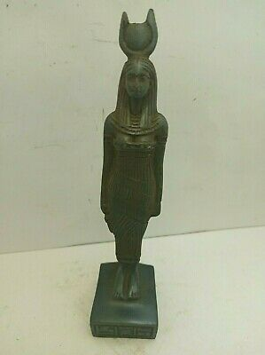 RARE ANCIENT EGYPTIAN ANTIQUE Isis Statue 1515-1453 BC