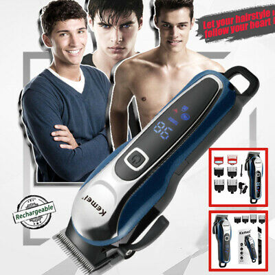 Barber Hair Clipper Professional Trimmer Cordless Electric Hair Cutting Machine