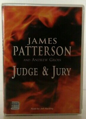 Judge and Jury by James Patterson & Andrew Gross: Unabridged Cassette Audiobook
