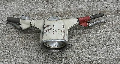 guidon scooter vespa 125 150 années 60 gros phare