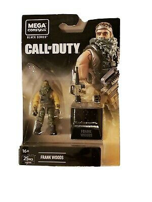 NEW 2020 HEROES Mega Construx Black Series Call of Duty MW FRANK WOODS GNV44