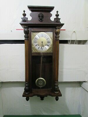 William. L. Gilbert Clock Co, Striking Wall Clock, Fully Working Condition,1910s