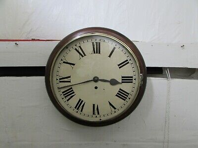 Superb Victorian Overhauled Fusee Wall Clock, Fully Running