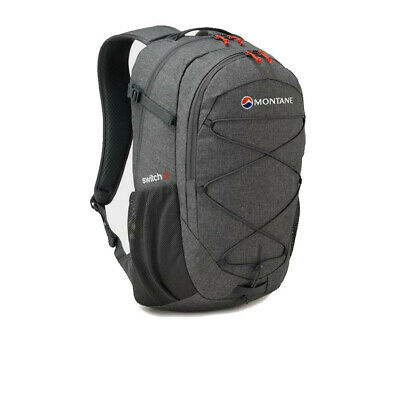 Montane Mens Mezzo 10 Backpack Grey Sports Outdoors Breathable Reflective