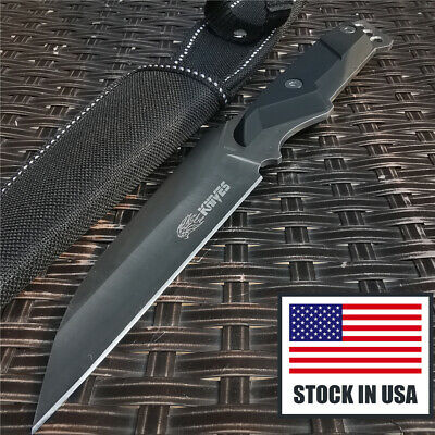Tactical Knife Fixed Blade Hunting Knife Sheath Combat Straight Knives Defense