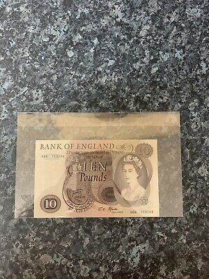 Old £10 Bank Of England Note- MINT CONDITION