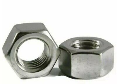 M8 Hex Nuts 13mm A/F approx A2 STAINLESS STEEL Full Nut Qty 500