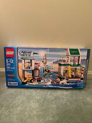 LEGO CITY MARINA Replacement STICKER SHEET for Retired Beach Set # 4644  NEW