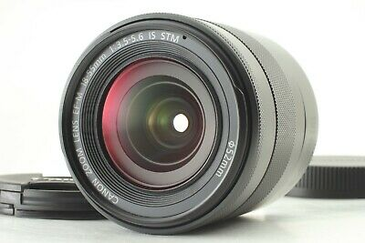 FedEx【Mint】Canon EF-M 18-55mm f/3.5-5.6 IS STM Lens From Japan #086