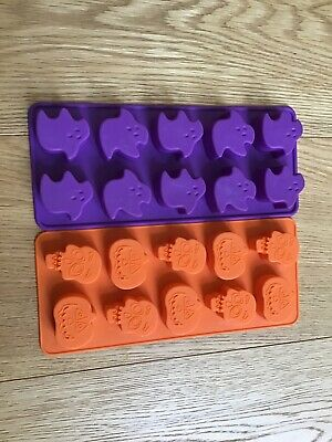 Halloween Ghost Pumpkin And Skeleton Ice Tray Mould
