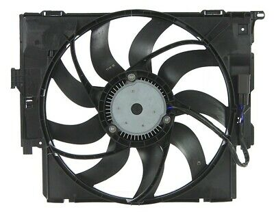 APDI 6010098 Dual Radiator And Condenser Fan Assembly