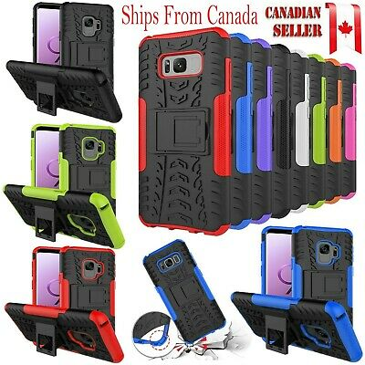 For Samsung Galaxy J3 prime 2017 Heavy Duty Tough Kickstand Strong Case Cover