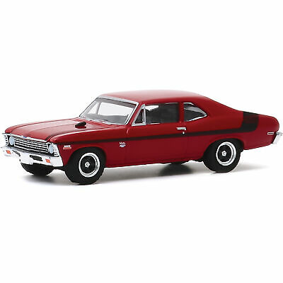 Greenlight 1:64 LOOSE Red 1971 /'71 CHEVROLET Chevy NOVA YENKO Deuce Muscle Car