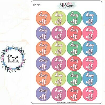 S484 Cancel:Planner Stickers Erin Condren Red Cancelled Icons School Cancel