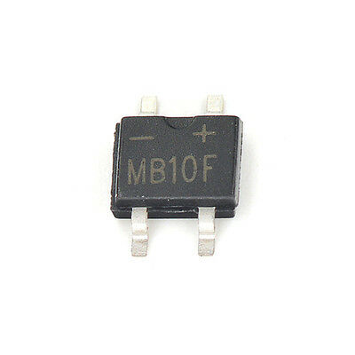 1000PCS MB10F 1A 1000V SOP-4 SMD Bridge Rectifier