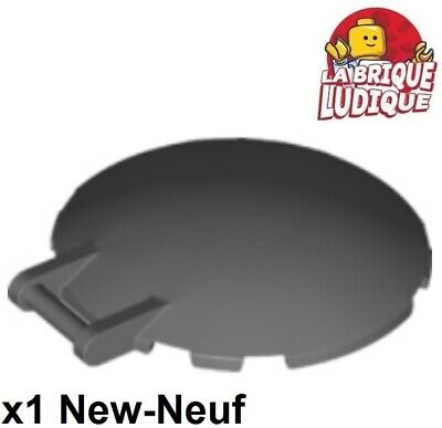 Lego 1x dish 6x6 drive handle handle cockpit windscreen dark grey 18675 new