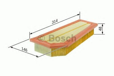 BOSCH AIR FILTER S0134 FITS MERCEDES-BENZ C-CLASS 1.6 1.8 E-CLASS 1.8 SLK 1.8