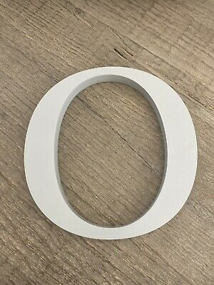 """POTTERY BARN KIDS Wall Letter 8inch Gray """"O"""" ($10)"""