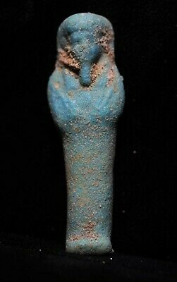 Zurqieh -As18581- Ancient Egypt . Affordable Ancient Ushabti , 600 - 300 B.c