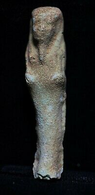 Zurqieh -As18583- Ancient Egypt . Affordable Ancient Ushabti , 600 - 300 B.c