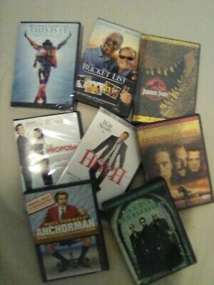 DVDs $3.49 - BUY 2 OR MORE AND GET FREE SHIPPING - CONDITION - GOOD TO NEW