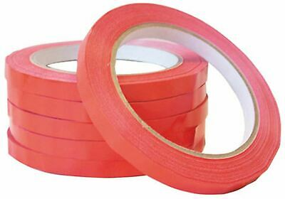 Smith & Bateson Bag Sealing Machine Tape Red 6 Pack Sundries Bags BN