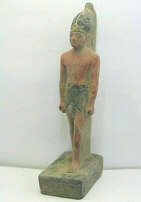 RARE ANCIENT EGYPTIAN ANTIQUE RAMSES III Statue 1186-1155 BC