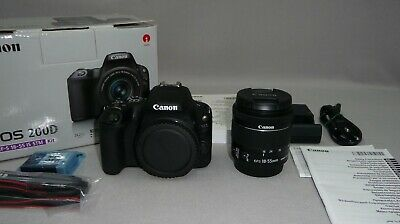 Canon EOS 200D EF-S 18-55 IS STM Kit Digitalkamera 24.2 MP WiFi Bluetooth