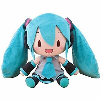 "Character Prize Plush Key Chain Mascot Vocaloid Hatsune Miku 6/"" Open Mouth Ver"