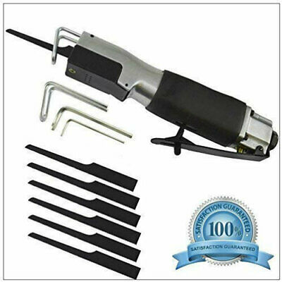 Reciprocating Air Body Cut-Off Saw & 6 Blades Cutting Tool Bodyshop High Speed