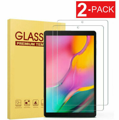 2x Tempered Glass Screen Protector for Samsung Galaxy Tab A 10.1 2019 T515/T510