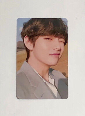 V Official Photocard from BTS Love Yourself Tear
