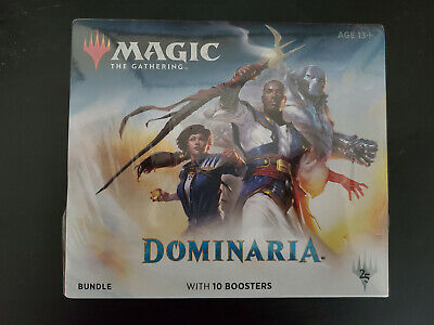 Magic the Gathering MTG DOMINARIA Factory Sealed Fat Pack Bundle Box 10 boosters