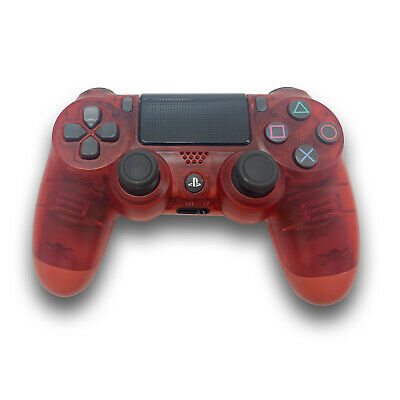 New Red Crystal Sony Playstation DualShock 4  Wireless Controller