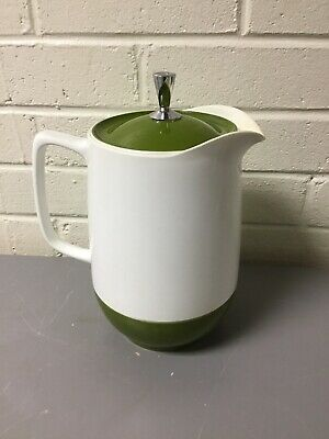 West Germany produced by Studio Nova 1988 Ole Palsby designed white plastic thermos jugcarafe for Alfi
