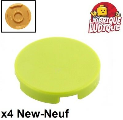 Corner Plate 1x2x2 Angle NEUF NEW vert green lime 4 x LEGO 2420 Plaque Coin