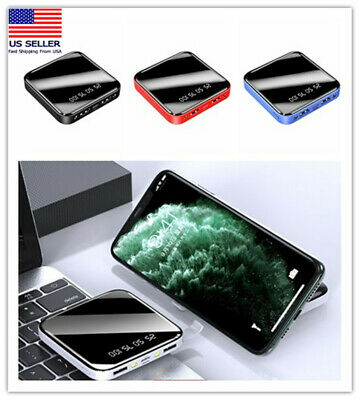 900000mAh portable Power Bank Backup External USB Battery Charger For Cell Phone
