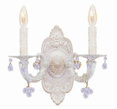 Crystorama Lighting Group 5200 Sutton 2 Light Candle Style Double - White