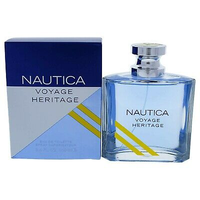 Voyage Heritage by Nautica cologne for men EDT 3.3 / 3.4 oz New In Box SEALED