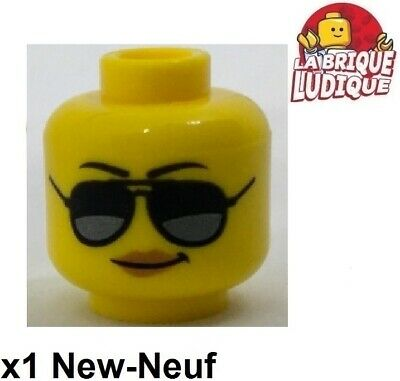 Lego 1x minifig tête head femme women cicatrice colère angry 3626cpb1503 NEUF