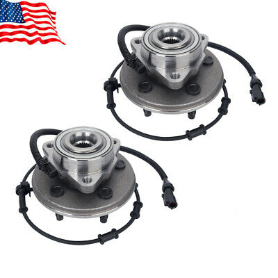 Pair (2) Front Wheel Hub Bearing Assembly For Ford Explorer Mercury Mountaineer