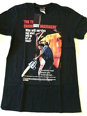 Texas Chainsaw Massacre Classic Movie Poster Official Tee T-Shirt Mens Unisex
