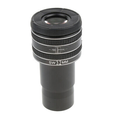 """Telescope Planetary Lens Moon Eyepiece 1.25"""" Filter Thread Clear Image 3.2mm"""
