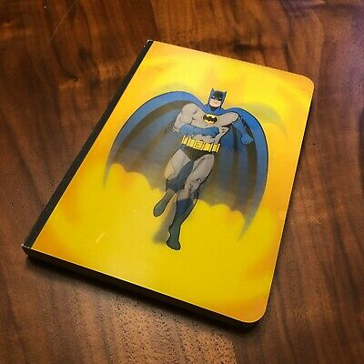 Batman Lenticular Ruled Notebook Bob Kane 2006 DC Comics Chronicle Books NEW