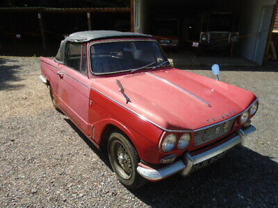Triumph Vitesse MK1 2.0 litre Convertible,Overdrive,4 restoration 1967 Runs well