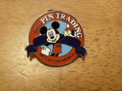 Genuine Disney 2008 Trading Around The World Hidden Mickey Mouse Pin *READ*